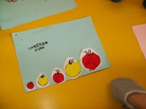 i pomodori in ordine di grandezza